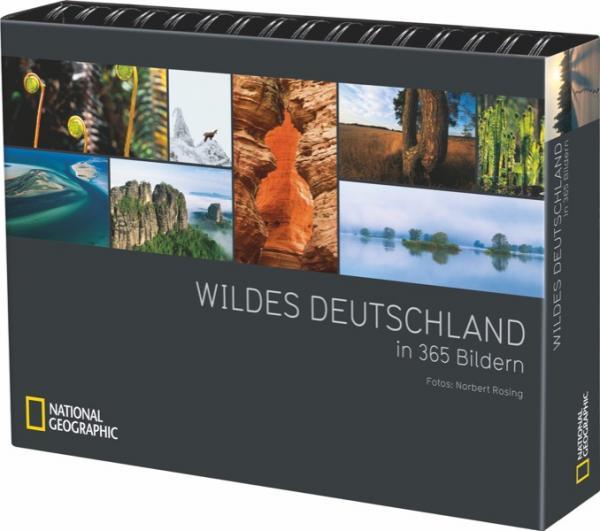 Tischaufsteller Wildes Deutschland in 365 Bildern