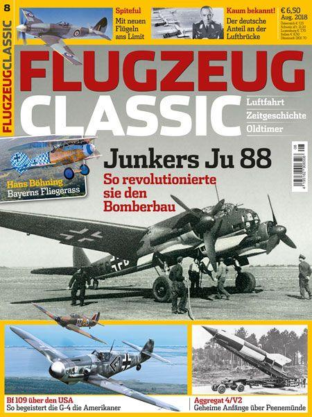 Flugzeug Classic 08/18