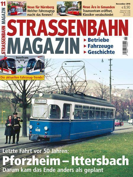 Straßenbahn Magazin 11/18