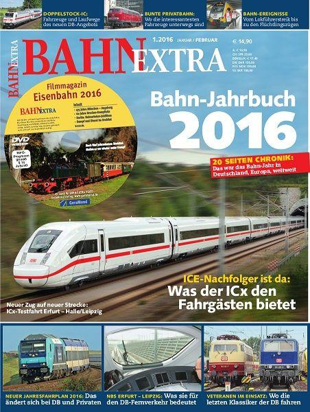 BAHN EXTRA 01/16