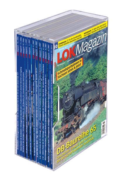 Acrylsammelkassetten für LOK MAGAZIN im günstigen 5er-Pack