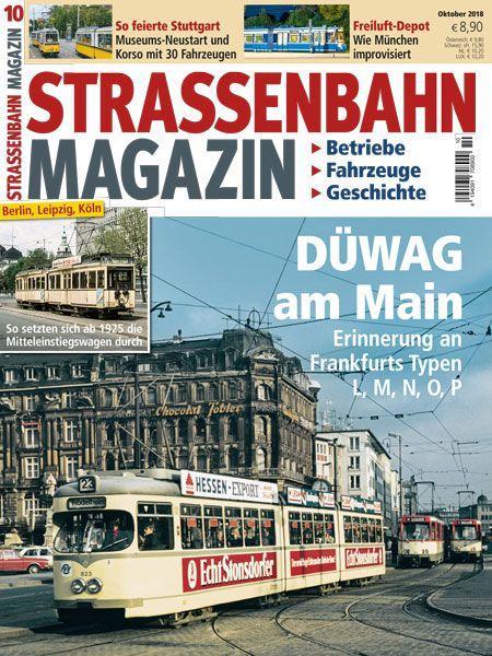 Straßenbahn Magazin 10/18