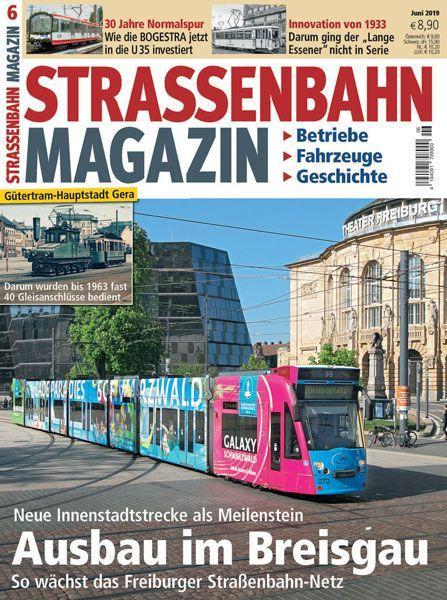 Straßenbahn Magazin 06/19