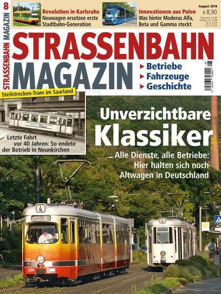 Straßenbahn Magazin 08/18