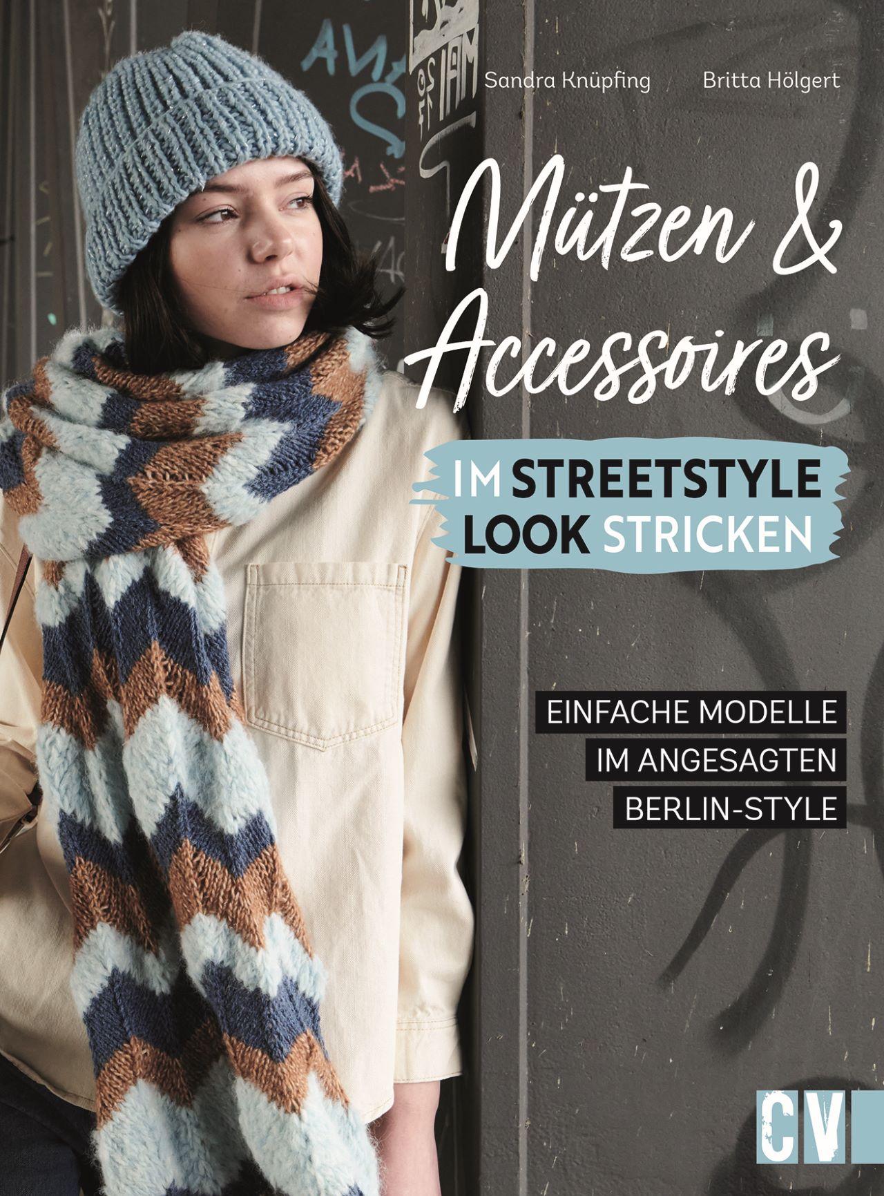 Mützen und Accessoires im Streetstyle Look stricken thumbnail