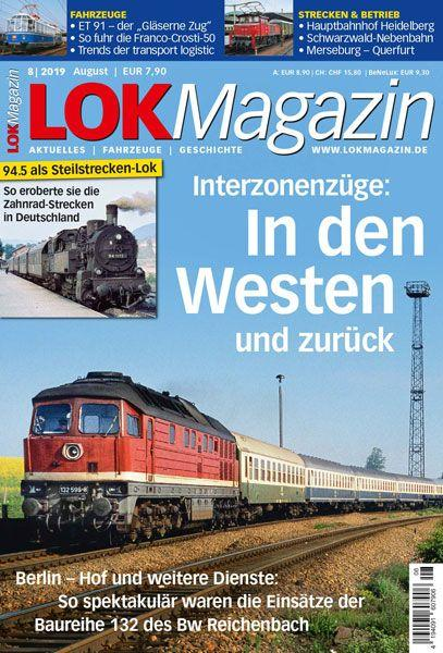 Lok Magazin 08/19