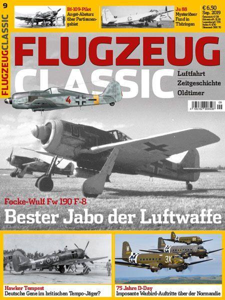 Flugzeug Classic 09/19