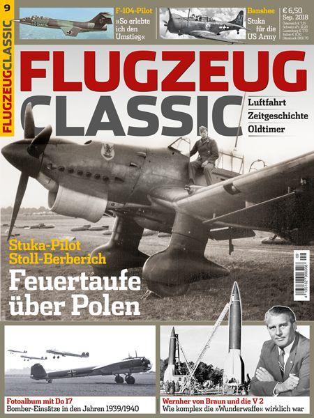 Flugzeug Classic 09/18