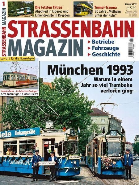 Straßenbahn Magazin 01/19