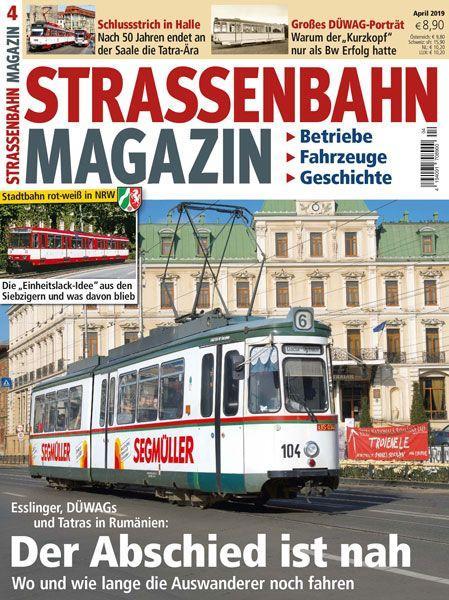 Straßenbahn Magazin 04/19