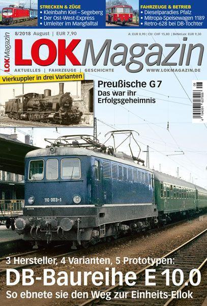 Lok Magazin 08/18