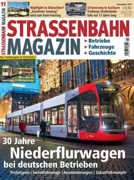 Straßenbahn Magazin 11/19