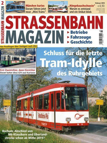 Straßenbahn Magazin 02/19